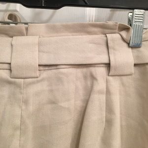 Taupe Linen Dress Pant by Express